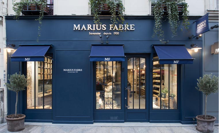 Boutique MARIUS FABRE Paris